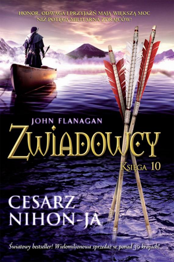 okładka Zwiadowcy 10: Cesarz Nihon-Jaebook | EPUB, MOBI | John Flanagan