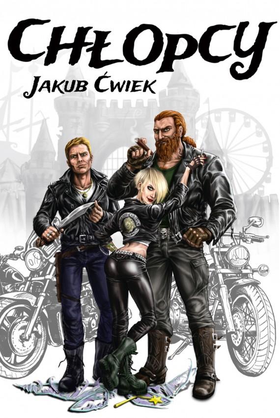 okładka Chłopcyebook | EPUB, MOBI | Jakub Ćwiek