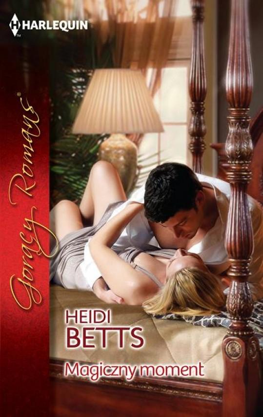 okładka Magiczny moment. Ebook | EPUB, MOBI | Heidi Betts