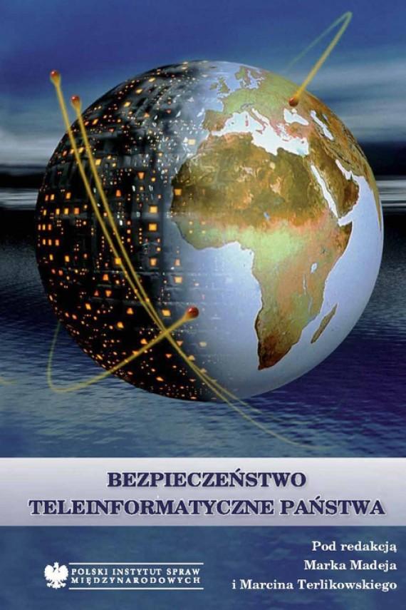 okładka Bezpieczeństwo teleinformatyczne państwa. Ebook | EPUB, MOBI | Marcin Terlikowski