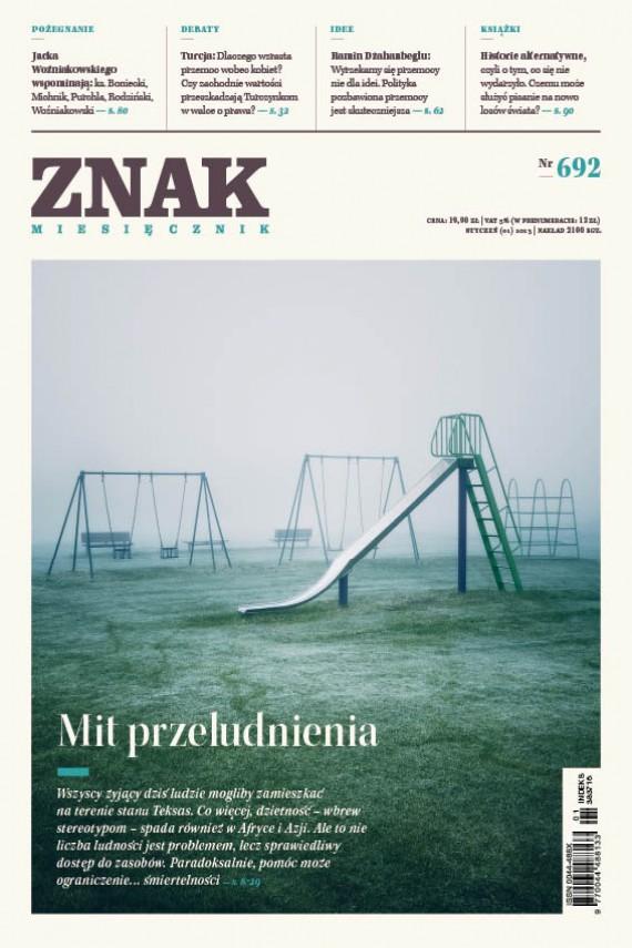 okładka ZNAK Miesięcznik nr 692 (1/2013)ebook | EPUB, MOBI | autor zbiorowy