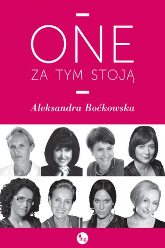 okładka One za tym stojąebook | EPUB, MOBI | Aleksandra Boćkowska