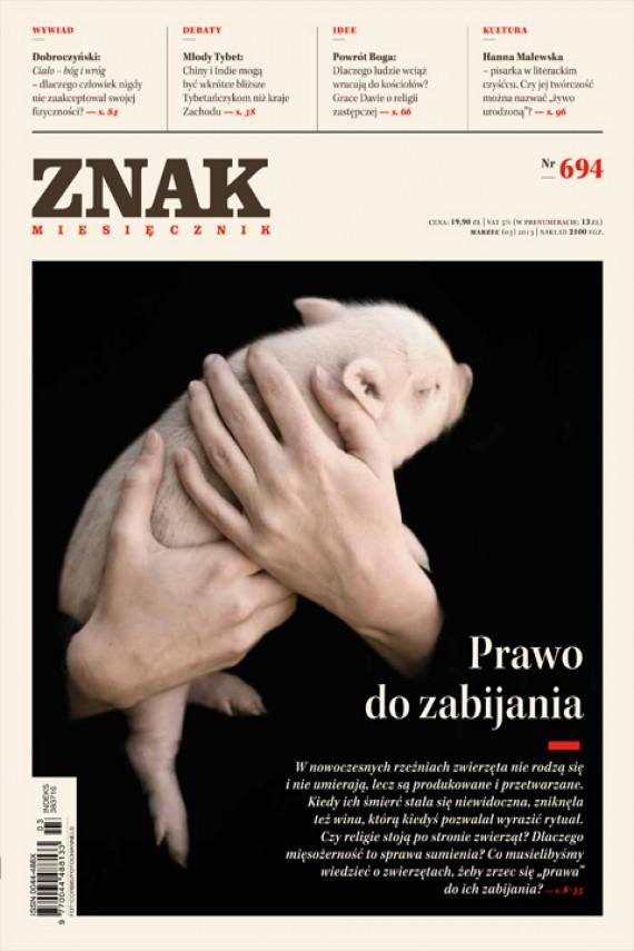 okładka ZNAK Miesięcznik nr 694 (3/2013)ebook | EPUB, MOBI | autor zbiorowy