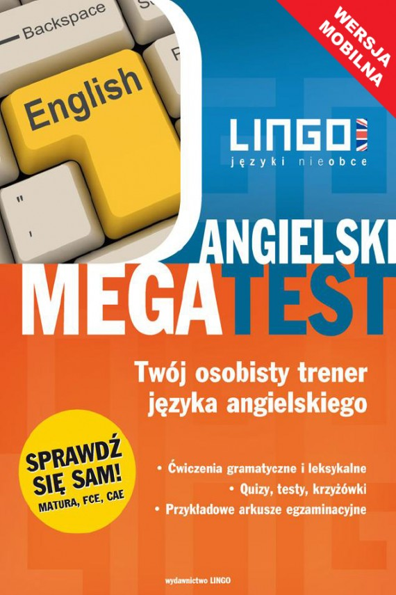 okładka Angielski. Megatest. Wersja mobilnaebook   EPUB, MOBI   Anna Treger