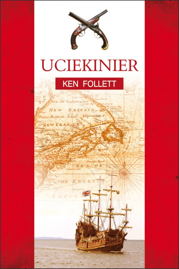 okładka Uciekinier. Ebook | EPUB, MOBI | Ken Follett
