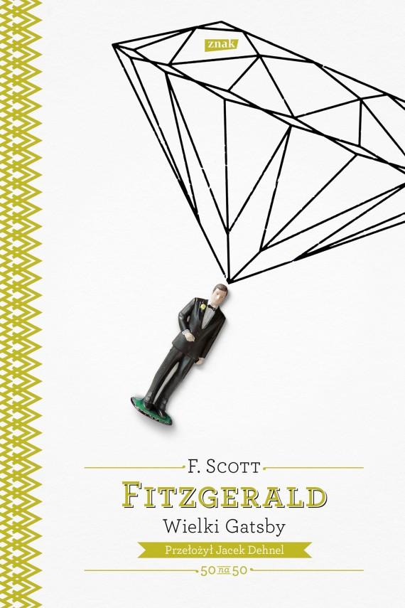 okładka Wielki Gatsby. Ebook | EPUB, MOBI | Francis Scott Fitzgerald