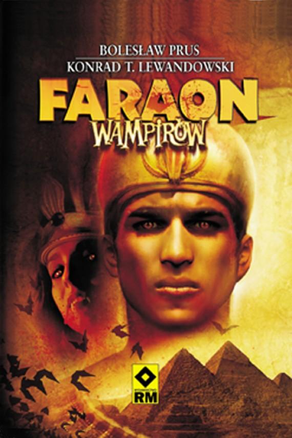 okładka Faraon wampirówebook | EPUB, MOBI | Konrad T. Lewandowski