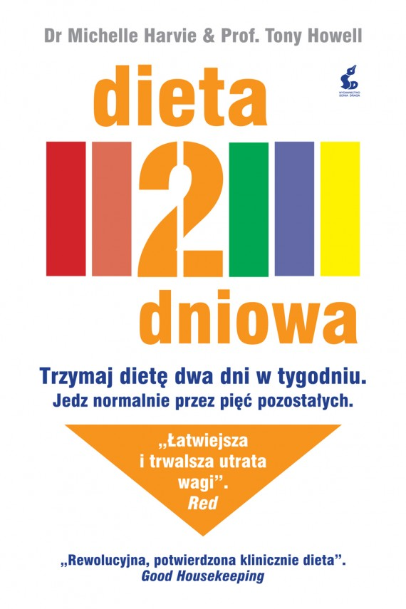 okładka Dieta 2-dniowa. Ebook | EPUB, MOBI | Michaelle  Harvie, Tony  Howell, Anna Sznajder