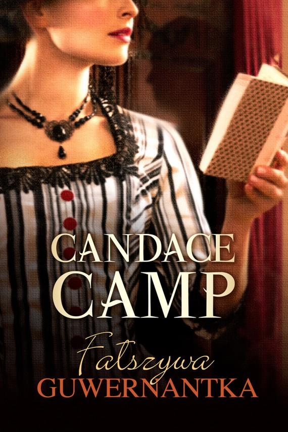 okładka Fałszywa guwernantka. Ebook | EPUB, MOBI | Candace Camp