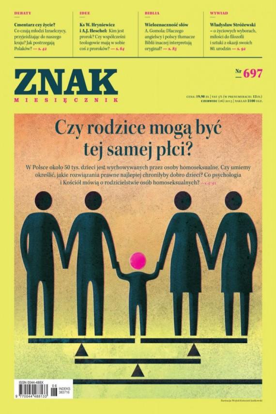okładka ZNAK Miesięcznik nr 697 (6/2013)ebook | EPUB, MOBI | autor zbiorowy