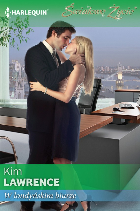 okładka W londyńskim biurzeebook | EPUB, MOBI | Kim Lawrence