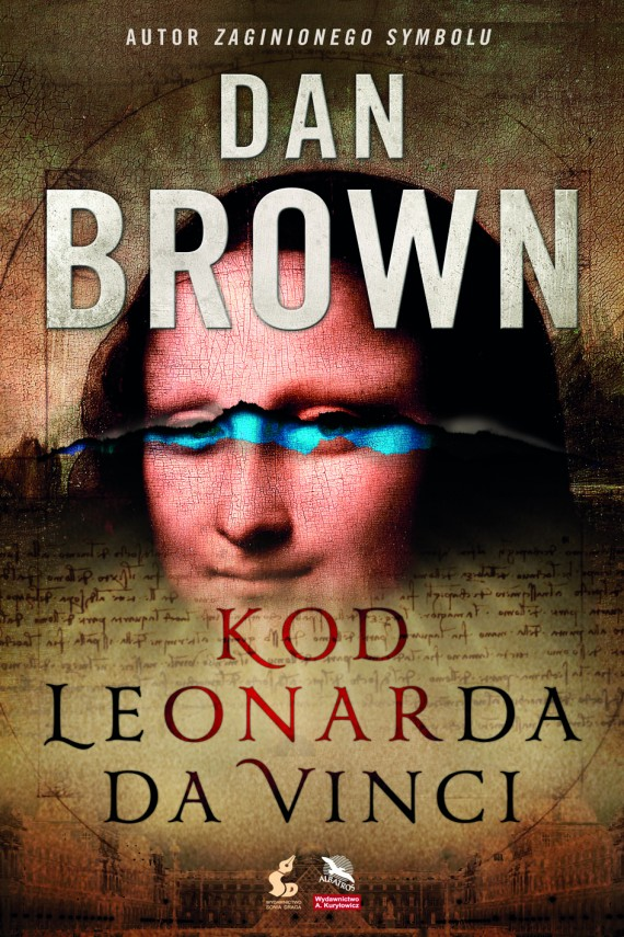 okładka Kod Leonarda da Vinci. Ebook | EPUB, MOBI | Dan Brown