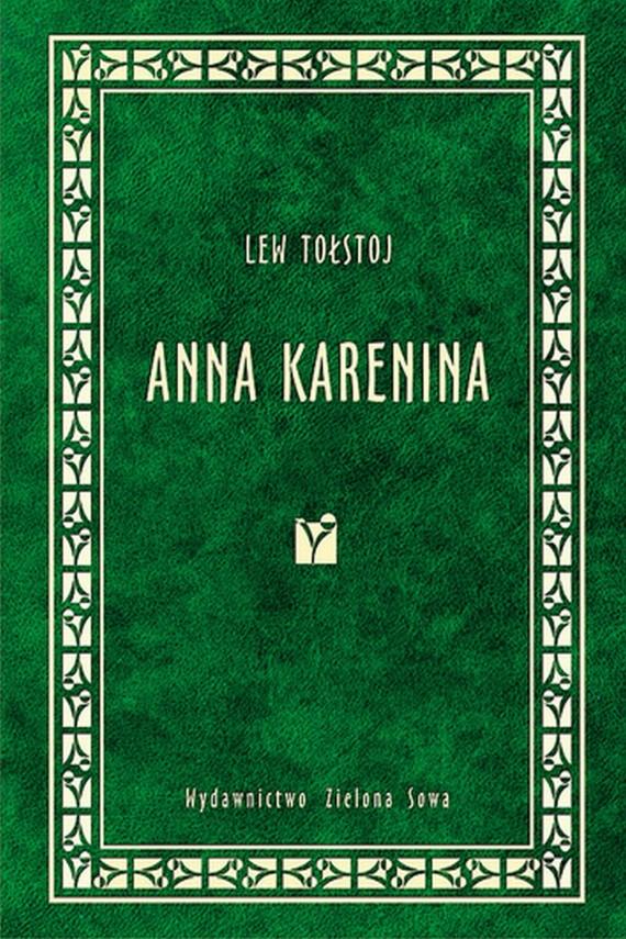okładka Anna Karenina. Ebook | EPUB, MOBI | Lew Tołstoj