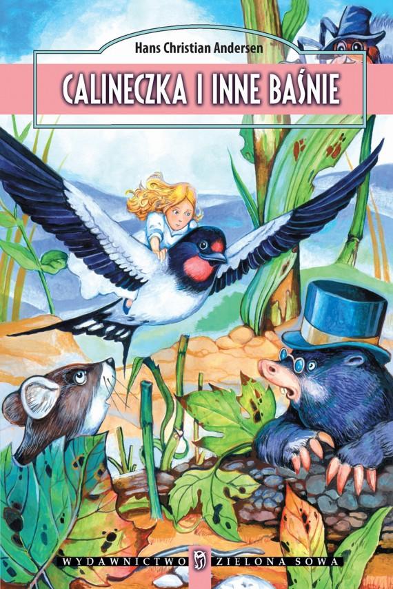 okładka Calineczka i inne baśnieebook | EPUB, MOBI | Hans Christian Andersen