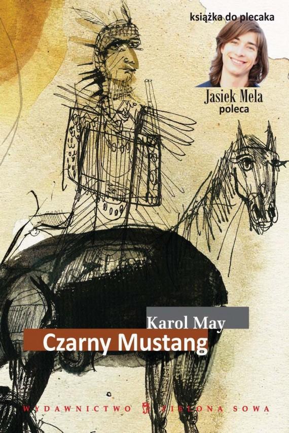 okładka Czarny mustangebook   EPUB, MOBI   Karol May
