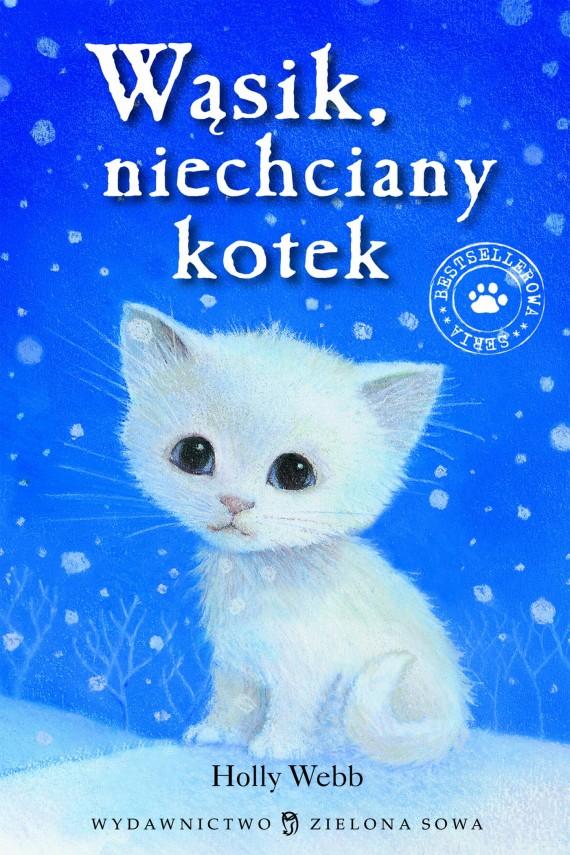 okładka Wąsik niechciany kotekebook | EPUB, MOBI | Holly Webb