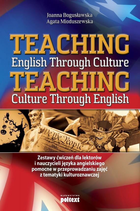okładka Teaching English Through Cultureebook | EPUB, MOBI | Joanna Bogusławska, Agata Mioduszewska