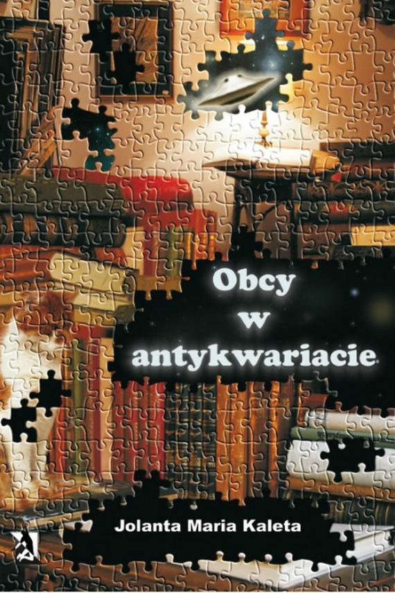 okładka Obcy w antykwariacie. Ebook   EPUB, MOBI   Jolanta Maria Kaleta