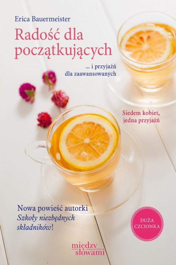 okładka Radość dla początkujących. Ebook | EPUB, MOBI | Erica Bauermeister