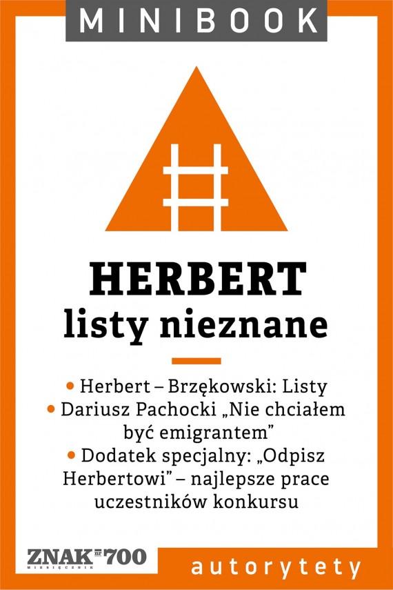 okładka Herbert [listy nieznane]. Minibookebook | EPUB, MOBI | autor zbiorowy