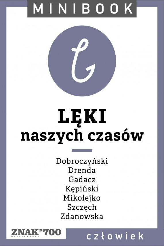 okładka Lęki [naszych czasów]. Minibookebook | EPUB, MOBI | autor zbiorowy