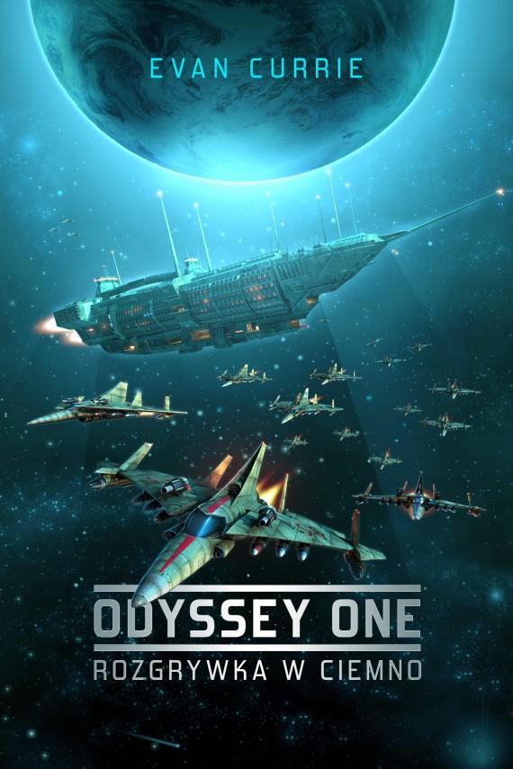 okładka Odyssey One #1: Rozgrywka w ciemno. Ebook | EPUB, MOBI | Evan Currie