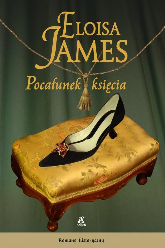 okładka Pocałunek księcia. Ebook | EPUB, MOBI | Eloisa James