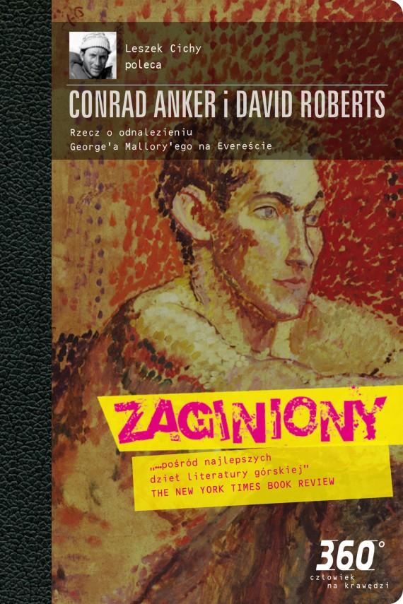 okładka Zaginionyebook | EPUB, MOBI | Conrad  Anker, David Roberts