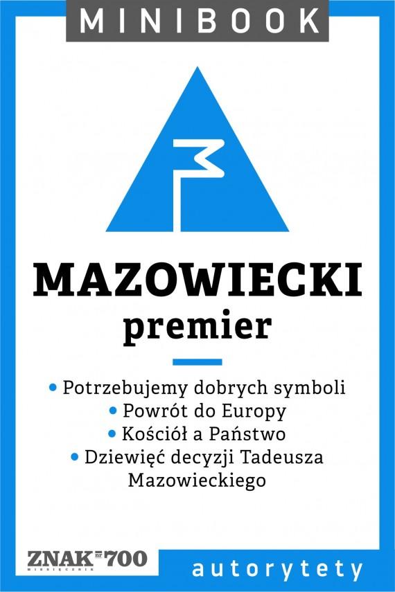 okładka Mazowiecki [premier]. Minibookebook | EPUB, MOBI | autor zbiorowy