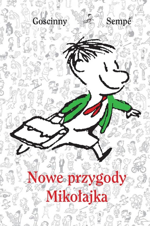 okładka Nowe przygody Mikołajka. Ebook | EPUB, MOBI | René Goscinny, Jean-Jacques Sempé
