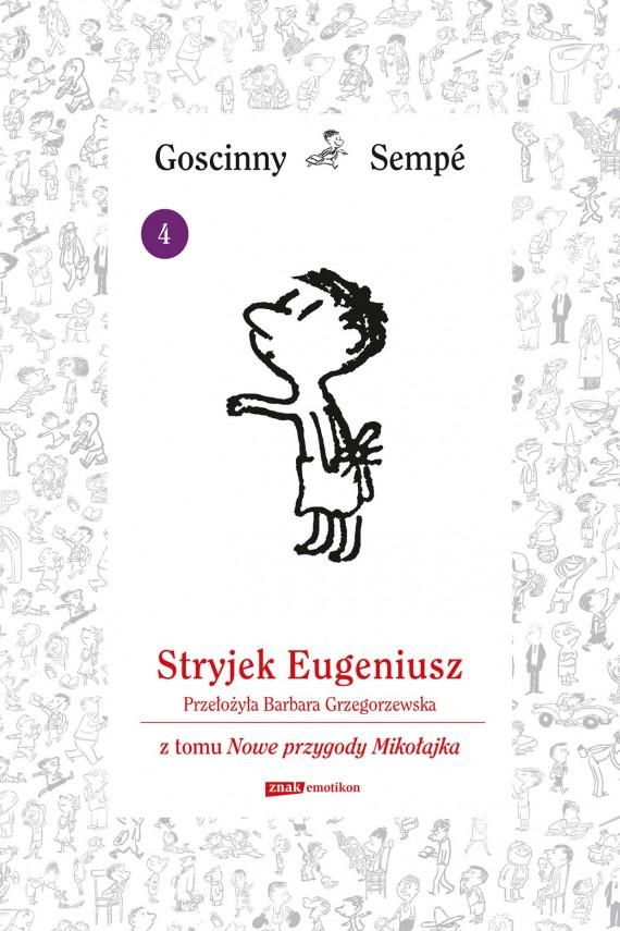 okładka Stryjek Eugeniusz  z tomu Nowe przygody Mikołajka.  Minibookebook | EPUB, MOBI | René Goscinny, Jean-Jacques Sempé