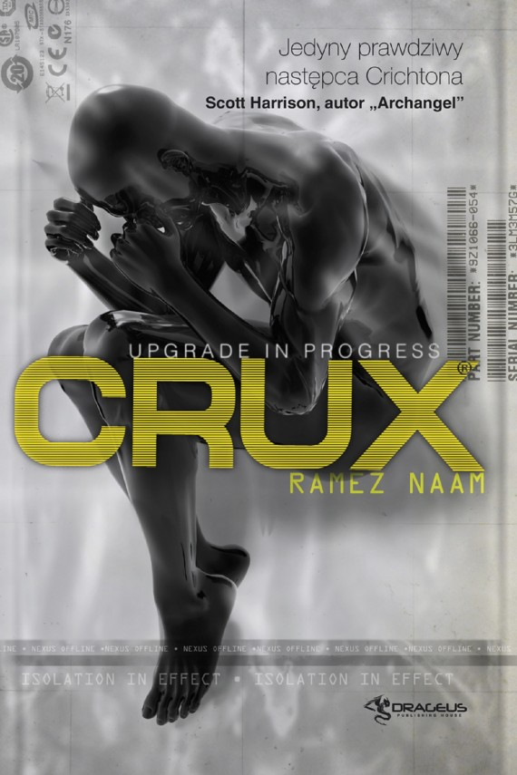 okładka Crux (Nexus #2). Ebook | EPUB, MOBI | Ramez Naam