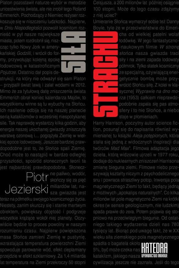 okładka Siła strachuebook   EPUB, MOBI   Piotr Jezierski