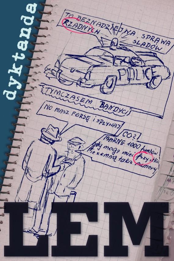 okładka Dyktanda. Ebook | EPUB, MOBI | Stanisław Lem