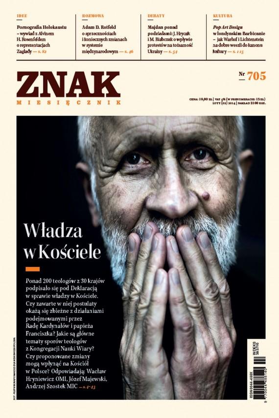 okładka ZNAK Miesięcznik nr 705 (2/2014)ebook | EPUB, MOBI | autor zbiorowy