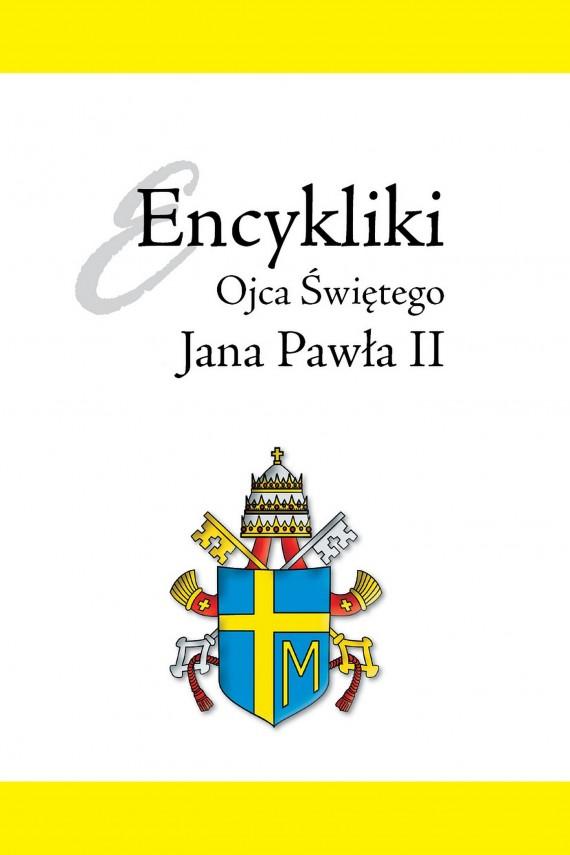 okładka Encykliki Ojca Świętego Jana Pawła II. Ebook | EPUB, MOBI | Jan Paweł II