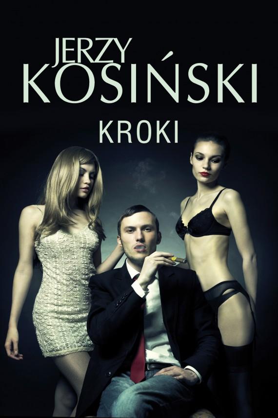 okładka Kroki. Ebook | EPUB, MOBI | Jerzy Kosiński