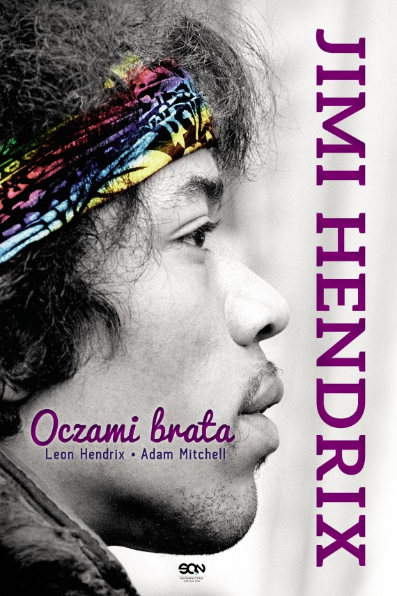 okładka Jimi Hendrix. Oczami brata. Ebook | EPUB, MOBI | Leon Hendrix, Adam  Mitchell