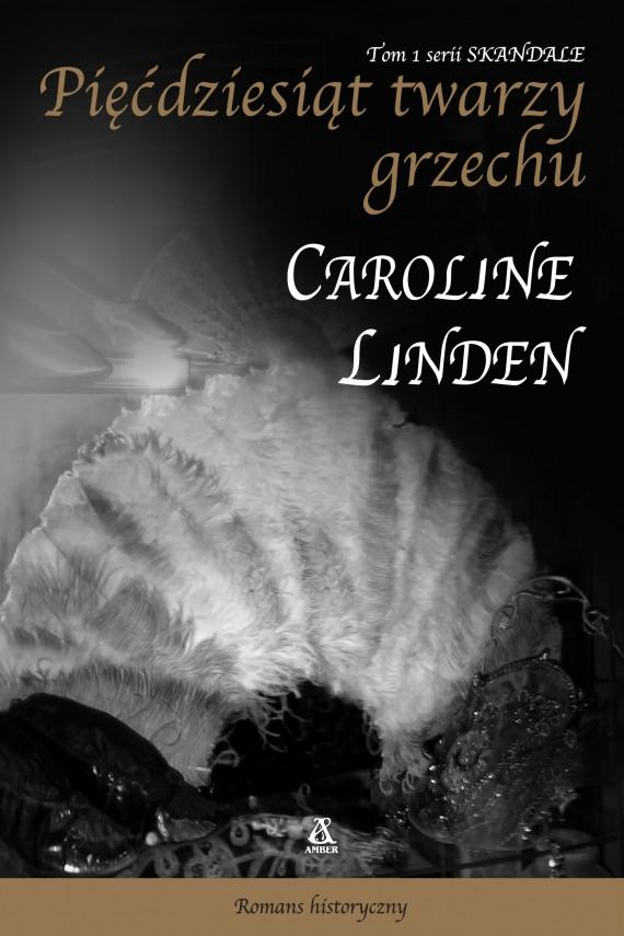 okładka Pięćdziesiąt twarzy grzechu. Ebook | EPUB, MOBI | Caroline Linden