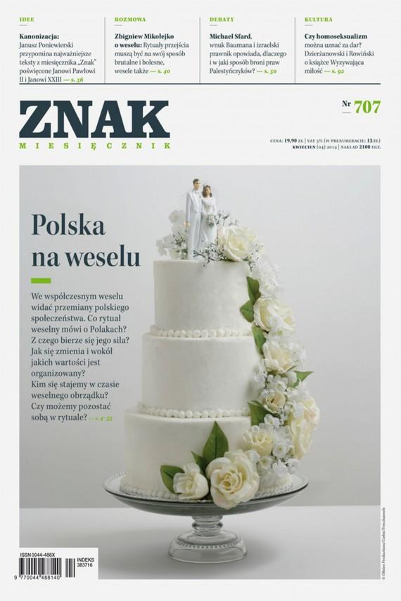 okładka ZNAK Miesięcznik nr 707 (4/2014). Ebook | EPUB, MOBI | autor zbiorowy