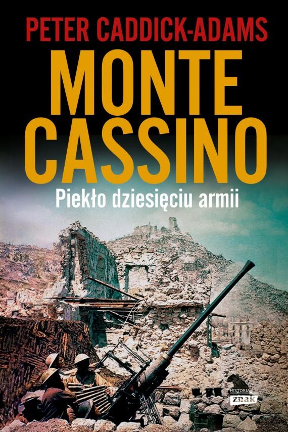 okładka Monte Cassinoebook | EPUB, MOBI | Peter Caddick-Adams
