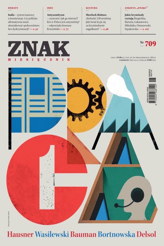 okładka ZNAK Miesięcznik nr 709 (6/2014)ebook | EPUB, MOBI | autor zbiorowy