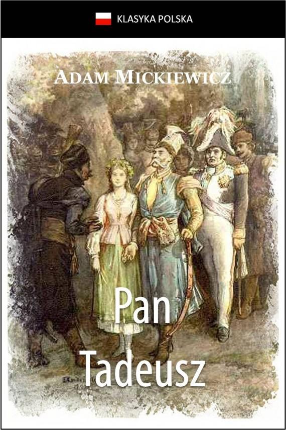 okładka Pan Tadeusz. Ebook | EPUB, MOBI | Adam Mickiewicz