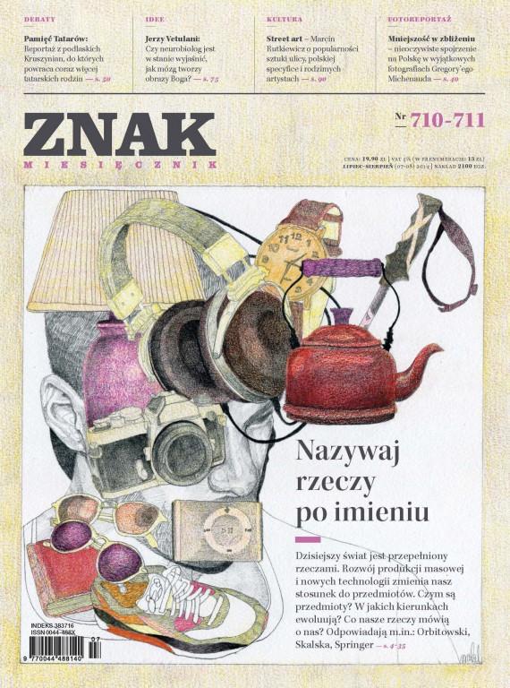 okładka ZNAK Miesięcznik nr 710-711 (7-8/2014)ebook   EPUB, MOBI   autor zbiorowy