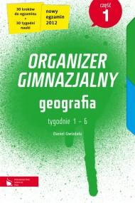 okładka Geografia cz.1. Organizer gimnazjalny. Ebook   EPUB_DRM,MULTI   Daniel Gwizdała