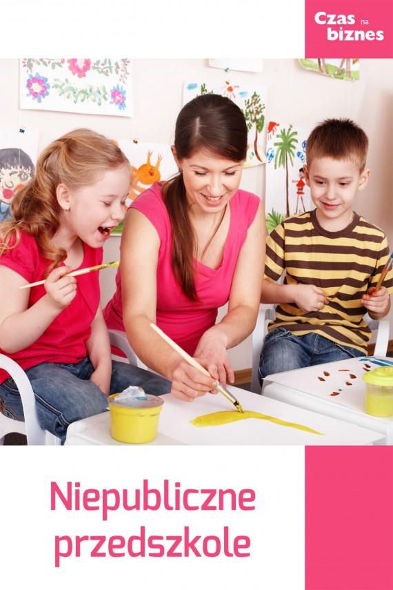okładka Przedszkole niepubliczne. Ebook | EPUB, MOBI | Redakcja  StartUp Magazine