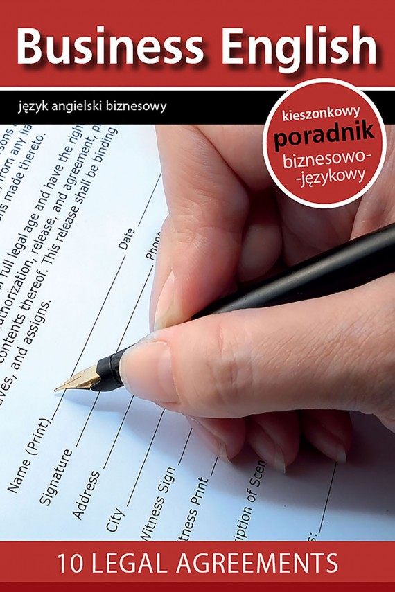 okładka 10 legal agreements - 10 umów prawnych. Ebook | EPUB, MOBI | redakcja Business English Magazine