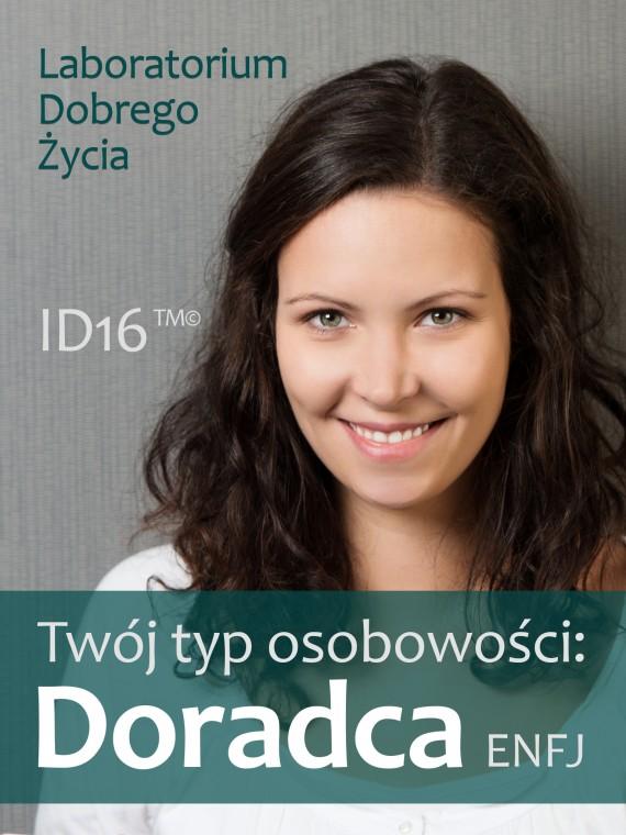 okładka Twój typ osobowości: Doradca (ENFJ). Ebook | EPUB, MOBI | Laboratorium Dobrego Życia (LDŻ)