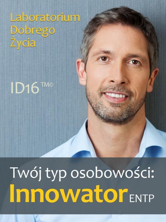 okładka Twój typ osobowości: Innowator (ENTP)ebook   EPUB, MOBI   Laboratorium Dobrego Życia (LDŻ)