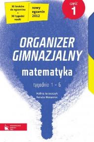 okładka Matematyka cz. 1. Organizer gimnazjalny. Ebook | EPUB_DRM,MULTI | Halina Juraszczyk, Renata Morawiec